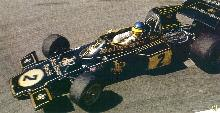 Lotus 72 Ronnie Peterson (1973)