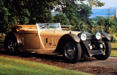 Daimler Double Six 50 Roadster (1930)