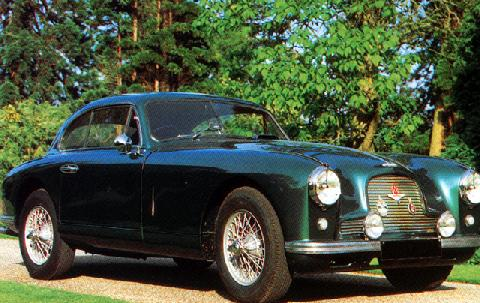 Aston Martin Db2 Coupe (1950)