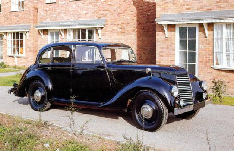 Armstrong Siddeley Lancaster Sedan (1951)