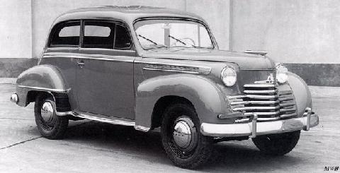 opel olympia 1951 picture gallery motorbase. Black Bedroom Furniture Sets. Home Design Ideas