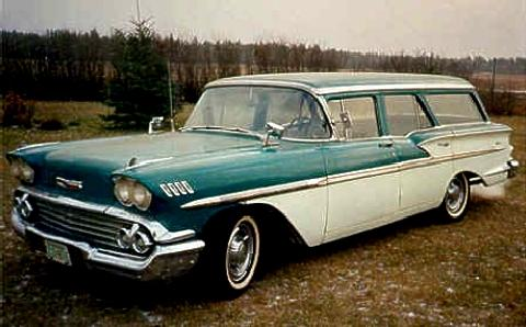 Chevrolet Bel Air Brookwood Wagon  Fvl (1958)