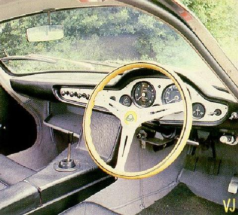 Lotus Elite   Interior (1959)