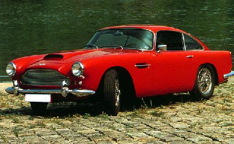 Aston Martin Db4 Coupe (1960)