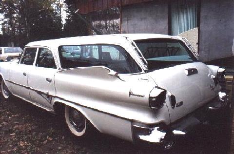 dodge pioneer wagon white rvl steve max 1960 picture. Black Bedroom Furniture Sets. Home Design Ideas