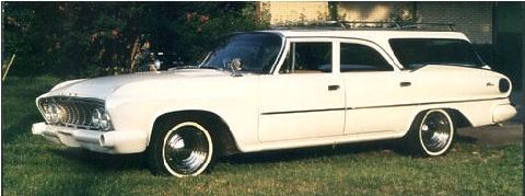dodge pioneer wagon white fvl steve max 1961 picture. Black Bedroom Furniture Sets. Home Design Ideas