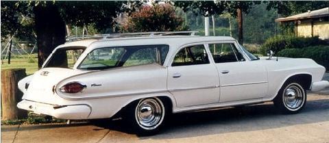 dodge pioneer wagon white rvr steve max 1961 picture. Black Bedroom Furniture Sets. Home Design Ideas