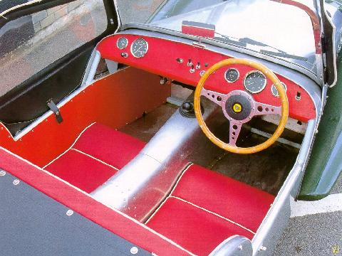 Lotus Seven S2 Ford Cosworth Powered   Interior 1024x768 (1965)