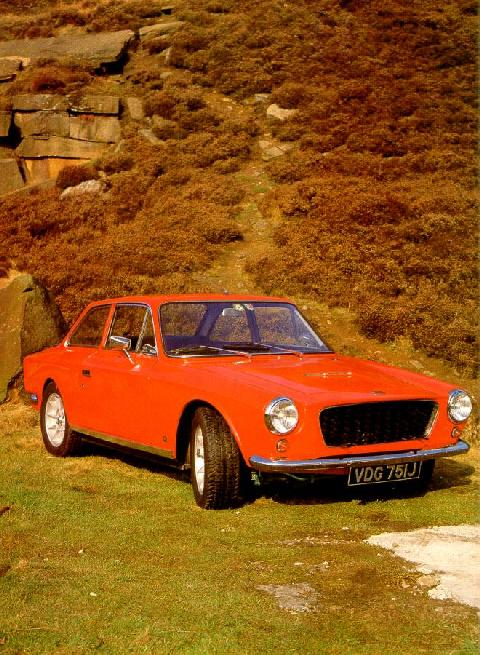 Gilbern Invader Red  Fvr Max  (1970)