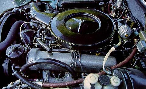 Mercedes Benz 280se 3,5 V8 Engine Max  (1971)