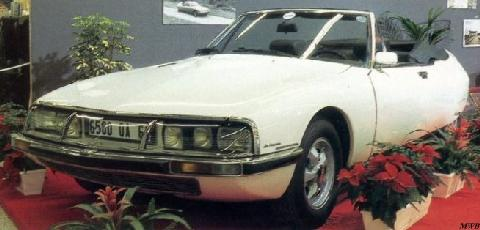 Citron Sm Cabriolet Le Mylord By Chapron 0 (1972)