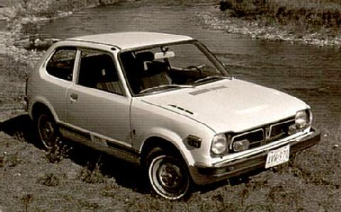 Honda Civic Bw Max  (1973)