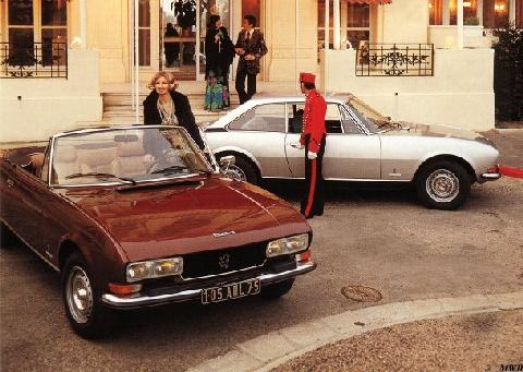 Peugeot 504 Cabriolet and  Coupe (1978)