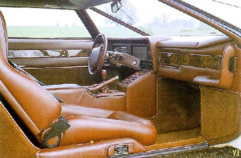 Aston Martin Bulldog   Interior (1980)