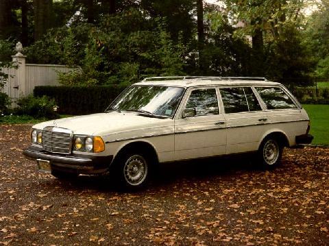 Mercedes Benz 300td Wagon White Fvl Max 1983 Picture