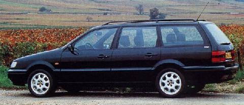 Volkswagen Passat Variant 1994 Picture Gallery Motorbase