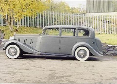 Rolls Royce Phantom Iii Hooper Limousine (1940) - Picture ...