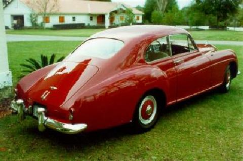 Bentley Continental Fastback 1953 Picture Gallery