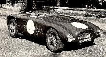 Allard Jr Le Mans B/W  Front/right view (1953)