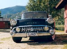 Buick Series 40 Special 4d Sedan, Black, Front (1957)