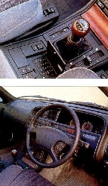Citroen XM2,0i Turbo Vsx  Front View Controls (1995)