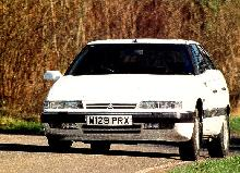 Citroen XM2,0i Turbo Vsx  Front View Cornering (1995)