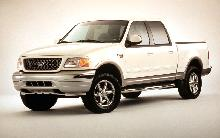 2001 Ford F150 Crew Cab, White