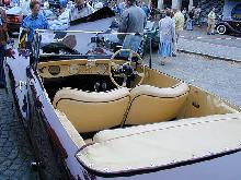 AC Buckland Sports Tourer Mk I 1952 Interior