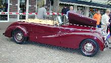 AC Buckland Sports Tourer Mk I 1952 Side