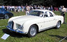 Alfa Romeo 1900 Supergioiello Coupe Ghia 1953 Front three-quarter view