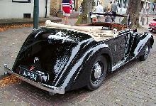 Armstrong Siddeley Hurricane 1947 Rear three quarter view
