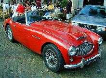 Austin Healy 3000 Mk II 1961 Front three quarter view