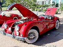 Jaguar 1957 Xk140 Roadster Red