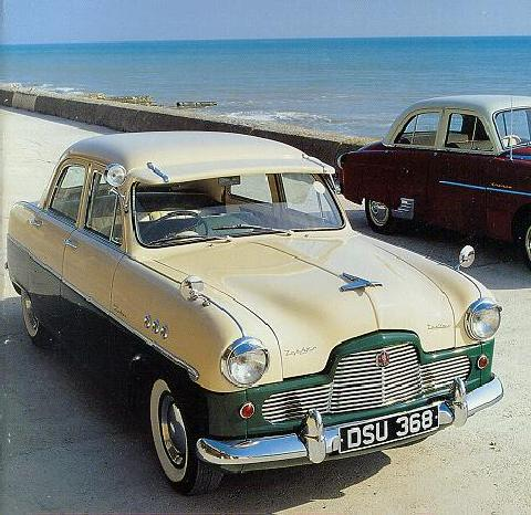 Ford Zephyr Zodiac Saloon, Grille (1956)