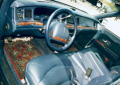 lincoln town car signature series interior 1995 picture gallery motorbase. Black Bedroom Furniture Sets. Home Design Ideas