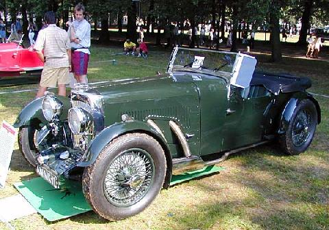 Aston Martin MKII Open Tourer 1934