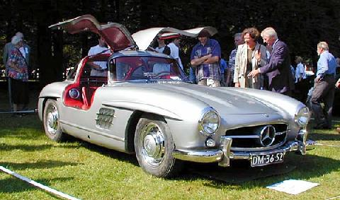 Mercedes Benz 300 SL Gullwing 1955