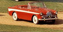 Singer Gazelle Series III Convertible 2 (1962)