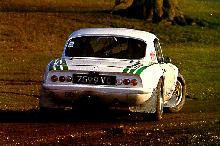 Lotus Elan Rally White In Skid (1963)