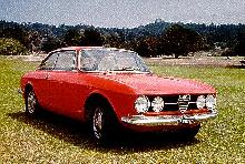 Alfa Romeo 1750 GTV Red (1967)