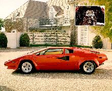 Lamborghini Countach Lp500s Red Svlmax (1984)
