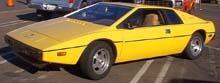 Lotus Esprit Yellow (1978)