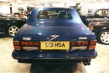 London1999. 1998 Bentley Turbo Rt Olympian, Rear