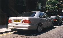 London1999. 1998 Mercedes Benz E55 Amg, Rear