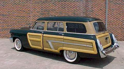 Mercury Custom 8 Pass. Wagon Green  Rvl (1952)
