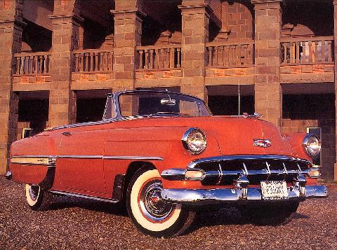 Chevrolet Bel Air Convertible (1954)