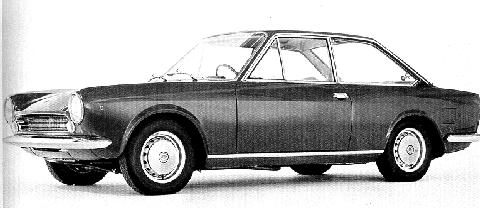 Fiat 124 Coupe  Lvf Bw (1967)