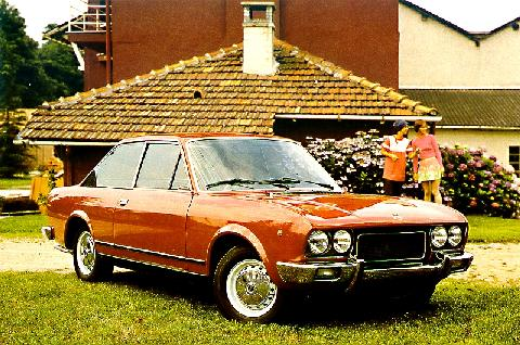 Fiat 124 Coupe Series 3  Fvr Copper (1971)