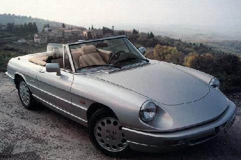 Alfa Romeo Spider Picture Gallery Motorbase - 1994 alfa romeo spider
