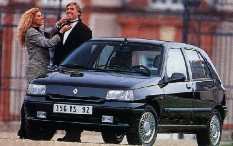 renault clio baccara automatic 1994 picture gallery motorbase. Black Bedroom Furniture Sets. Home Design Ideas